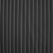 Kostimski, klasičen, črte, 2248-8, črna