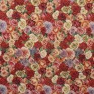 Deko žakard, vrtnice, 14798