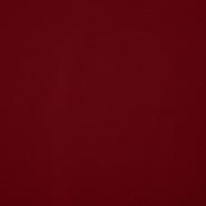 Jersey, viskoza, 13337-55, bordo rdeča