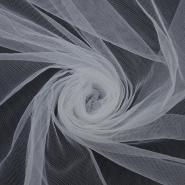 Tulle, fine, 13073-01, white