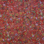 Cotton, poplin, floral, 13158-2