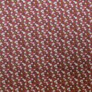 Cotton, poplin, floral, 13161-1