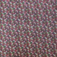 Cotton, poplin, floral, 13161-4