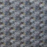 Cotton, poplin, floral, 13163-2