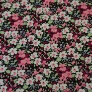 Cotton, poplin, floral, 13172-1