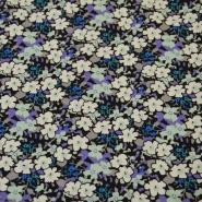 Cotton, poplin, floral, 13172-3