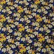 Cotton, poplin, floral, 13172-4