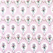 Cotton, poplin, floral, 13175-1