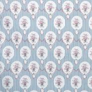 Cotton, poplin, floral, 13175-2