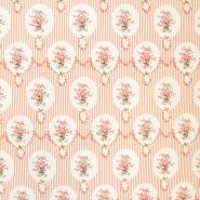 Cotton, poplin, floral, 13175-3