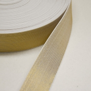 Elastic, decorative, 40mm, gold, 00469-002