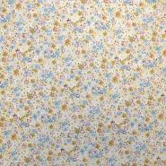 Cotton, poplin, floral, 10485