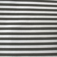 Cotton, twill, 13869-168, grey-white stripes