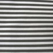 Pamuk, keper, 13869-168, sivo bijele prugice