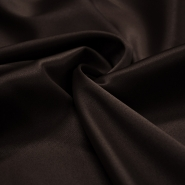 Satin, cotton, polyester,  20_10590, dark brown