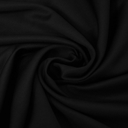 Fabric, cotton, polyester, 14850, black