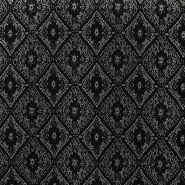 Jacquard, diamond, sheen, 15016 - Bema Fabrics