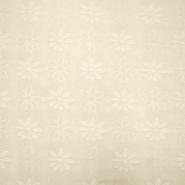Deko žakard, rože, 11937, natur