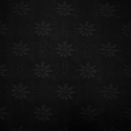 Deco jacquard, flowers, 11938, black
