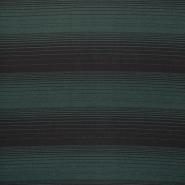 Jersey, črte, 14059-1, zelena