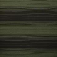 Jersey, črte, 14059-3, zelena