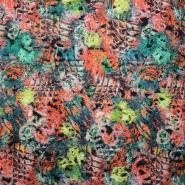 Tkanina, cvetlični vzorec, 15021-015