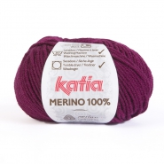 Wool, Merino, 15034-25, dark purple