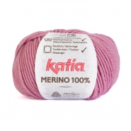 Vuna, Merino, 15034-37, ružičasta
