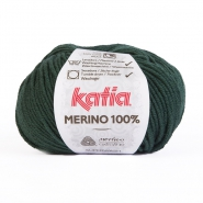 Wolle, Merino, 15034-48, dunkelgrün