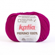 Wolle, Merino, 15034-49, zyklame