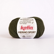 Wool, Merino sport, 15038-15, dark green