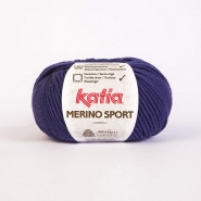 Wool, Merino sport, 15038-27, blue purple