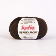 Wool, Merino sport, 15038-7, dark brown