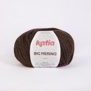 Wool, Big Merino, 15040-7, dark brown