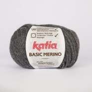 Wool, Basic merino, 15041-14, dark grey