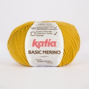 Wool, Basic merino, 15041-41, yellow