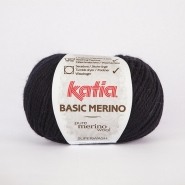 Wool, Basic merino, 15041-5, dark purple