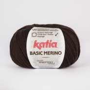 Wool, Basic merino, 15041-7, dark brown