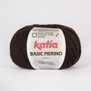 Wolle, Basic merino, 15041-7, dunkelbraun