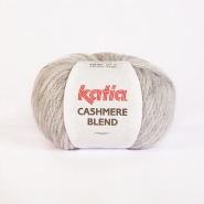 Volna, Cashmere blend, 15046-76, sivo bela