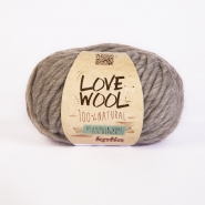 Wool, Love Wool, 15053-102, brown grey