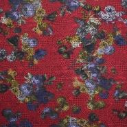 Bengalin, elastic fabric, floral, 15126-015