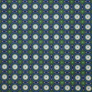 Cotton, poplin, circles, 15150-008