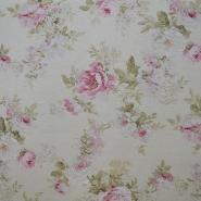 Deco, print, floral, 5275
