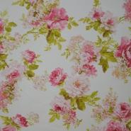 Deco, print, floral, 5596