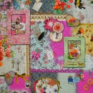 Deko, tisk, digital, romantični, 13391-01