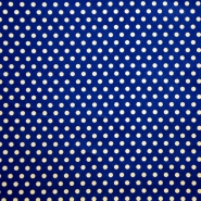 Cotton, poplin, dots, 15163-23
