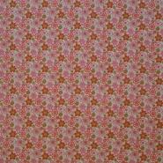 Cotton, poplin, floral, 15168-7