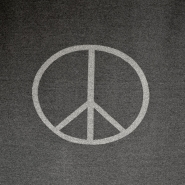 Knit, peace, 14062-2, melange grey