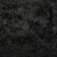 Krzno, umetno, dolgodlako, 13767, črna